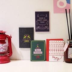아이씨엘 크리스마스 카드 -RETRO ver.2 8set