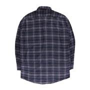 [제이온벨]캐주얼 글렌 체크 긴팔 셔츠 곤색JB00036