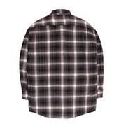 [제이온벨]캐주얼 타탄 체크 긴팔 셔츠 브라운JB00039
