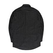 [제이온벨]캐주얼 잔 체크 긴팔 셔츠 블랙JB00040