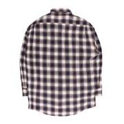[제이온벨]캐주얼 타탄 체크 긴팔 셔츠 블루 브라운JB00050