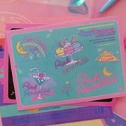 HBD Sticker