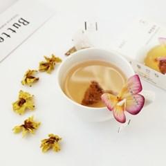 [꽃을담다] 목련 꽃차 나비티백(3개입)