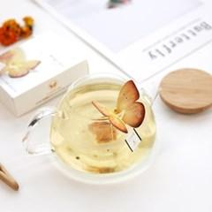 [꽃을담다] 메리골드 꽃차 나비티백(3개입)