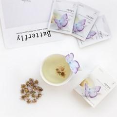 [꽃을담다] 구절초 꽃차 나비티백(3개입)