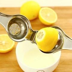 손잡이형 레몬 라임핸드 스퀴져 1개