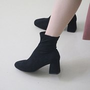 kami et muse Slim socks fit suede ankle boots _KM18w255
