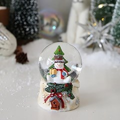 막스(MARKS)_크리스마스 장식 화이트 스노우볼 워터볼