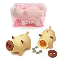 2019년 기해년 황금돼지띠 선물용 돼지저금통(BOX타입)