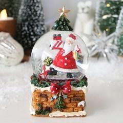 크리스마스 장식 트리 굴뚝 스노우볼 워터볼