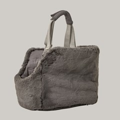 Reversible carry bag (charcoal brown)