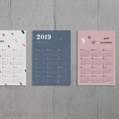 2019 포스터 365 캘린더_밤공기조약돌_(1663847)