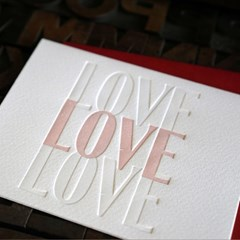 [텐텐클래스] (용산) 발렌타인,화이트데이 레터프레스 카드만들기