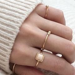 Layered ring set 016 (8p)