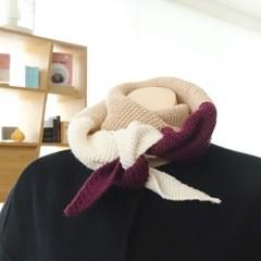 니팅키트- 3단 뾰족 목도리 (성인)