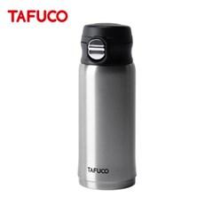 타푸코 TAFUCO 초경량 원터치 텀블러 330ml 실버 / TST-330SV