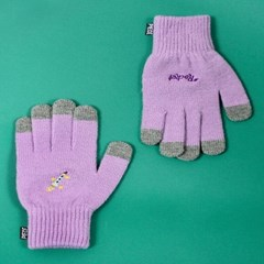 SPACE UNIT SMART GLOVES (PURPLE)_(400900028)