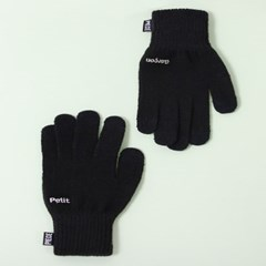 PETIT GARCON SMART GLOVES (BLACK)