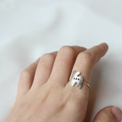 [Silhouette] Papillon ring