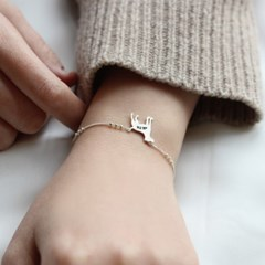[Silhouette] Jack russell terrier bracelet
