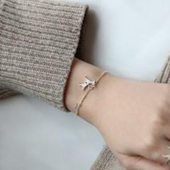 [Silhouette] Italian greyhound bracelet