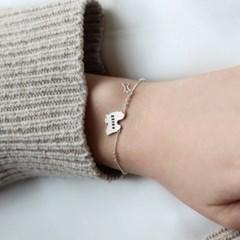 [Silhouette] Shih tzu bracelet