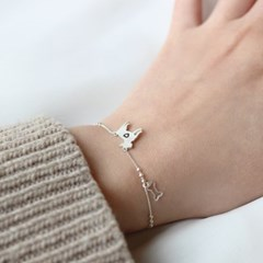 [Silhouette] Bullterrier bracelet
