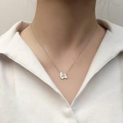 [Silhouette] Shih tzu necklace
