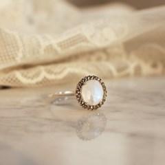 문스톤 반지