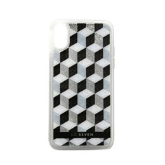 SoSeven 아이폰 X/XS 패션 큐빅 글리터 케이스