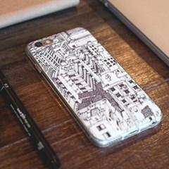 브릿지커머스 아이폰 6 6plus bcase 그래픽 디자인 케이_(1767416)