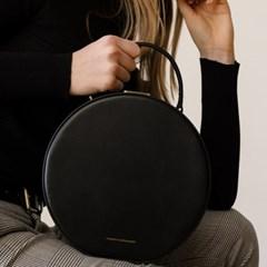 [Tammy & Benjamin]hat box bag black/라운드 백 블랙
