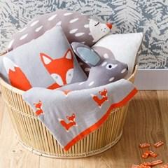 blanket 여우/토끼/고슴도치 담요
