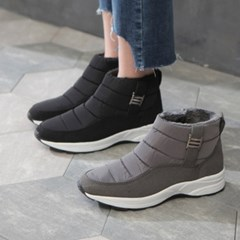 kami et muse Pedding tall up short ankle boots _KM18w270