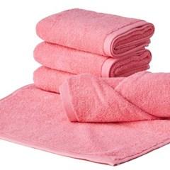 컬러풀 호텔수건 150g 핑크 5장