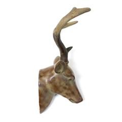사슴 머리 벽장식