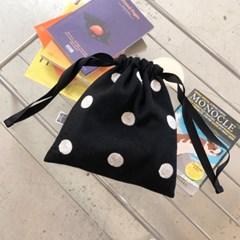 도트파우치 Dot pouch - Gray / Black