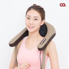 오아 넥앤숄더 고급 안마기 온열 목 어깨 마사지기 OA-MA010