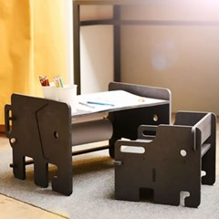 런메이크 키즈 코끼리 롤페이퍼 책상/의자