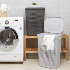 샤론 펀칭 세탁물 보관함 60L