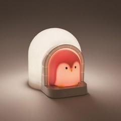 필립스 LED 캐릭터 펭귄 44010 무드등 취침등