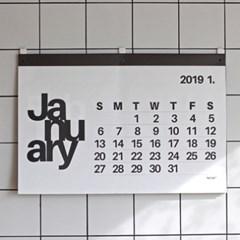 [The Flat74™] 2019 더플랏 대형달력