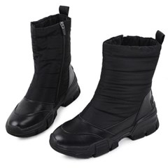 kami et muse Over toe padding fur boots _KM18w285