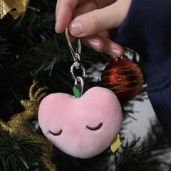 점숭아 열쇠고리