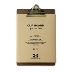 Penco Clipboard O / S Bronze - A5