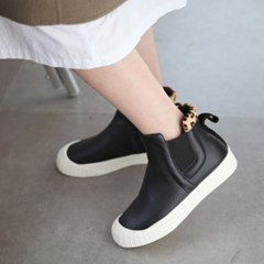 kami et muse Over toe ankle point leather sneakers _KM18w288