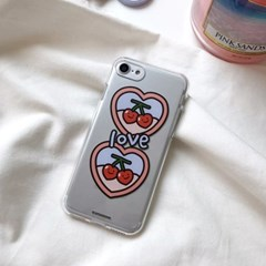 Love is cherry - jelly case