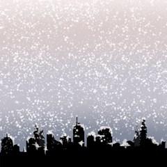 눈오는날 롤스크린 (R1231)_(2374801)