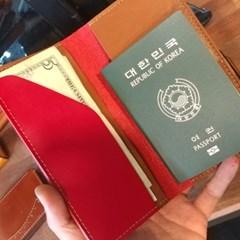 [텐텐클래스] (강북) 공허군의 가죽놀기_여권 케이스
