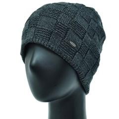 [더그레이]OCS13.격자 니트 여성 비니 겨울 엄마 모자
